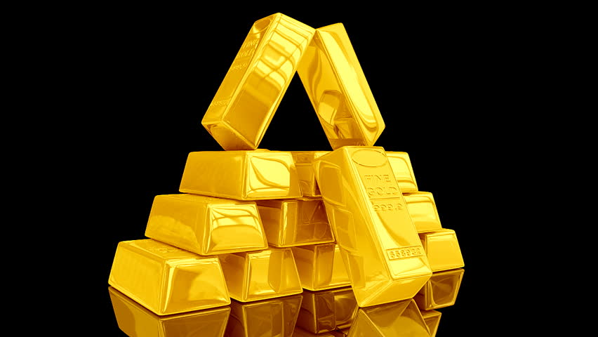 gold bar black background - photo #47