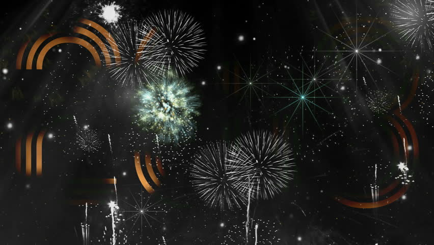 """Holiday Fireworks with 2013 header ( Series 3 - Version from 1 to 8 )+"""" Thing Different """"+ """" You can find every week new Footage """"+"""" Have a look at the other Footage series """" + [ Merry Christmas ]"""