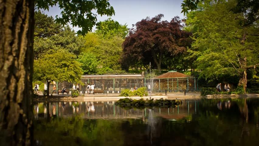 Nottingham Arboretum Timelapse