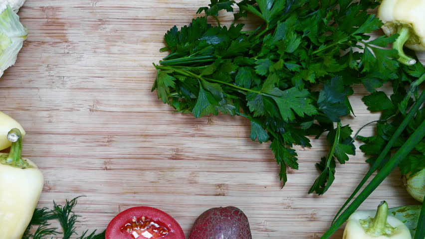 Cook chops parsley, it's possible to insert text #29330950