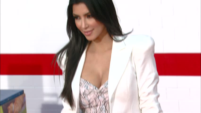 Los Angeles, CA - JUNE 04, 2009: Kim Kardashian walks the red carpet at the The Taking of Pelham 1 2 3 Premiere held at the Mann Village Theatre
