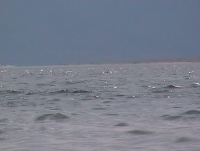 small Waves, Lake, SD - SD stock video clip