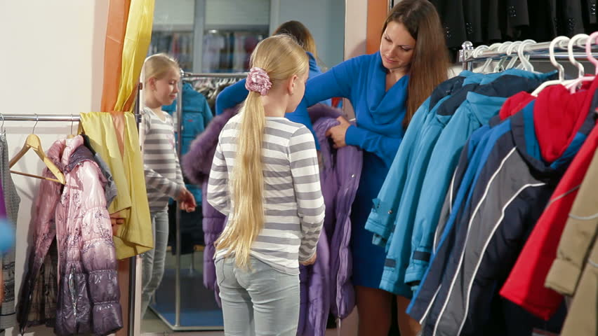 Shopping Girls Clothes