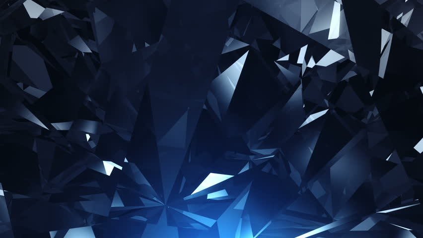 Blue facet background animation - loopable | Shutterstock HD Video #2952517