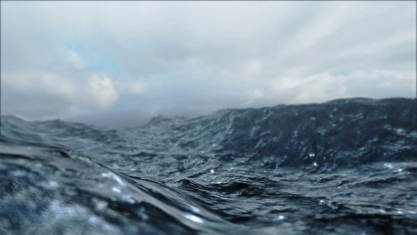Rough Sea Loop 3D