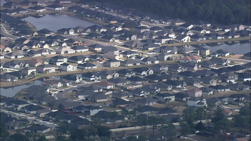 Modern Suburb Of Jacksonville | Shutterstock HD Video #29661943