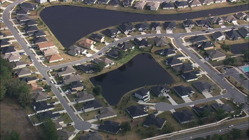 Modern Suburb Of Jacksonville | Shutterstock HD Video #29661952
