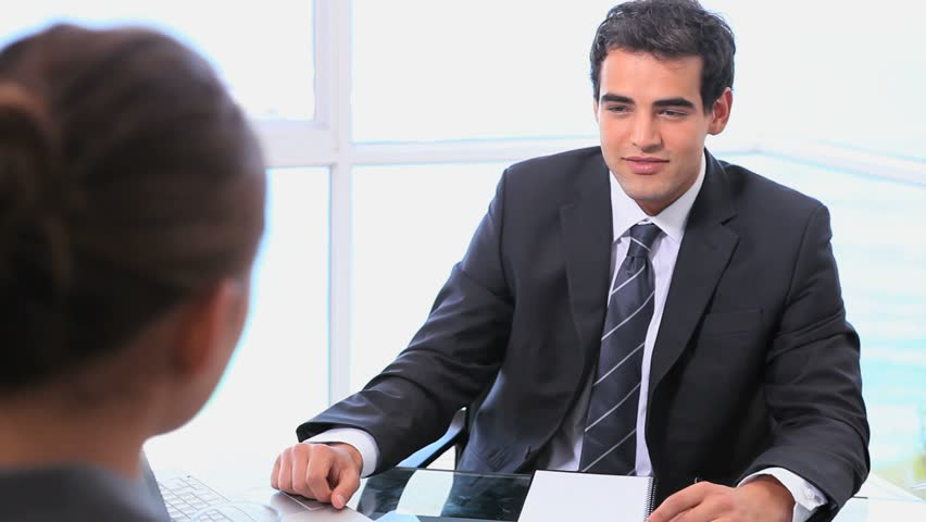 Job Interview Stock Footage Video Shutterstock