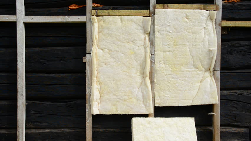 Urban House Wall Thermal Insulation With Rock Wool Stock