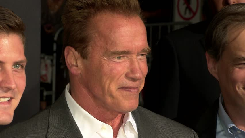 Los Angeles, CA - SEPTEMBER 17, 2012: Arnold Schwarzenegger, walks the red carpet at the End of Watch Premiere held at the Regal Cinemas LA Live