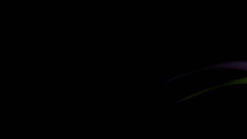 lens flare effect on black background flare gloss stock