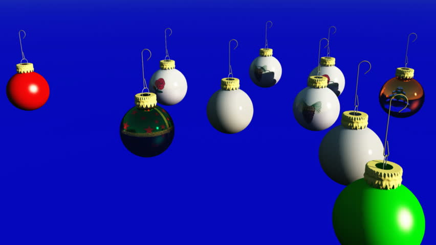 Christmas Backgrounds Series - HD stock video clip
