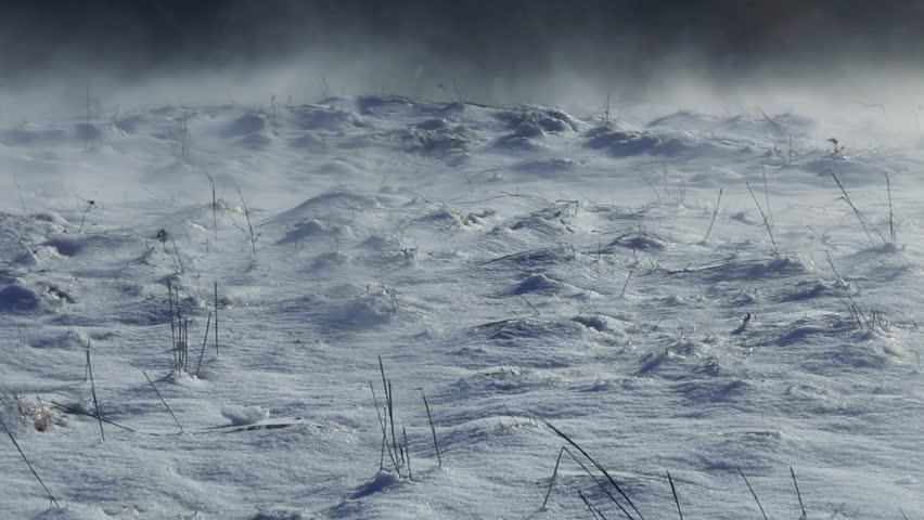 Snow Storm Mountain