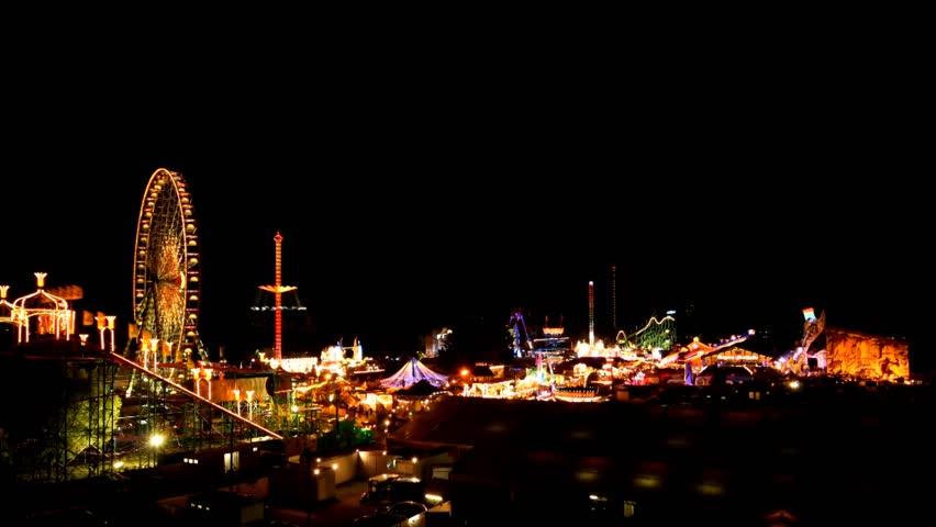carnival in Dsseldorf - HD stock video clip