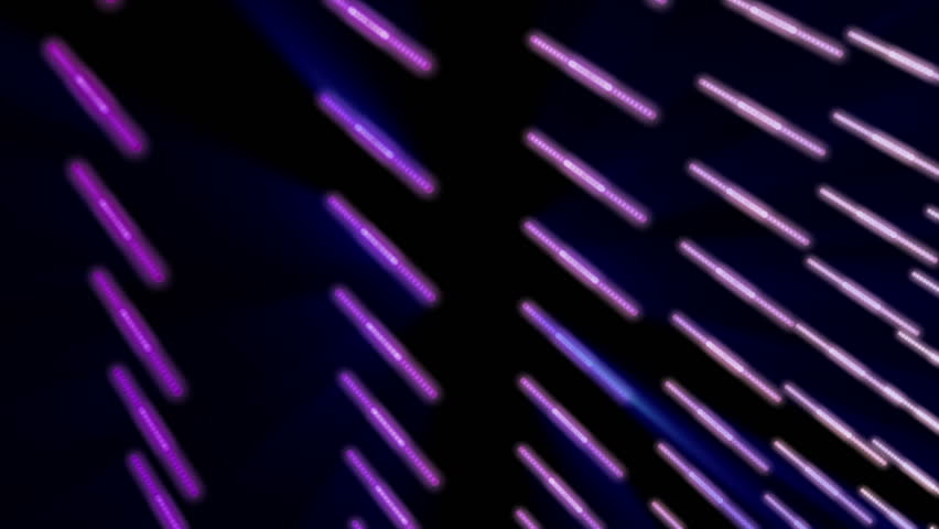 futuristic video animation with moving particle stripe object and lights, loop HD 1080p - HD stock footage clip