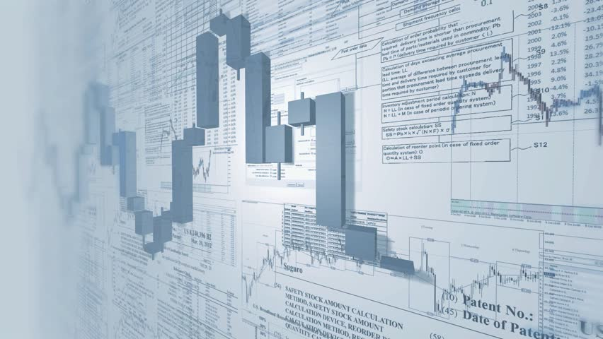 Business background. Market Analyze.Bar graphs, diagrams, financial figures, For-ex