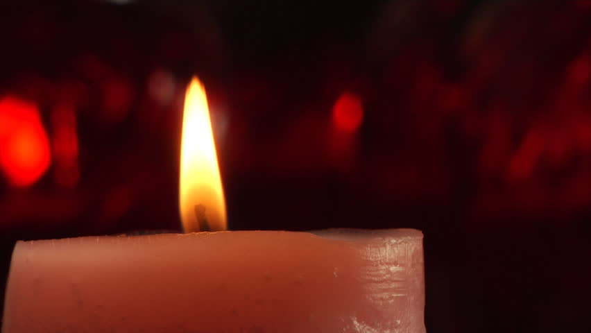 candle - HD stock footage clip