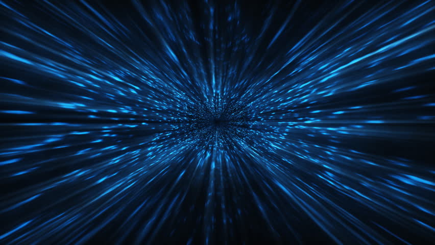 Matrix tunnel,data flow,seamless loop - HD stock video clip