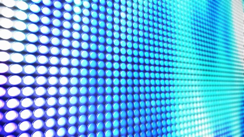 Led Screen loop - HD stock video clip