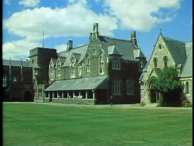 Christ College, Christchurch, New Zealand, Gothic Building