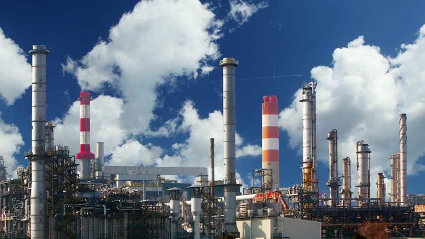 Oil refinery - Industry plant | Shutterstock HD Video #3969202