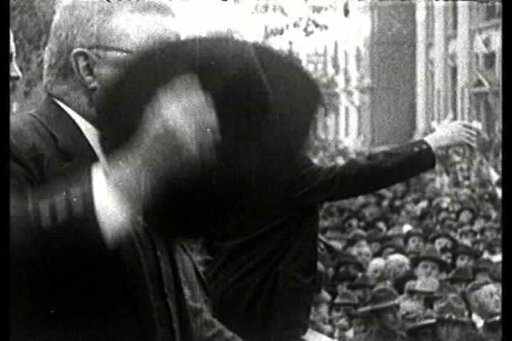 1900s - Theodore Teddy Roosevelt montage. | Shutterstock HD Video #3993313