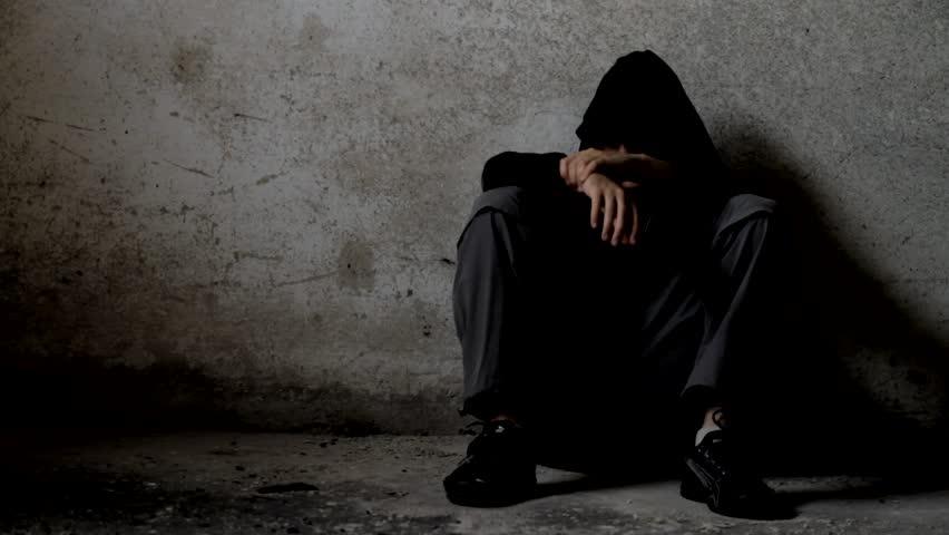 Depressed Depression Background Hd Stock Footage Video