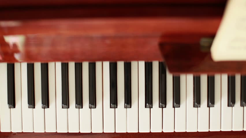 Piano, Hands Pianist Playing Music Stock Footage Video 4005160 - Shutterstock