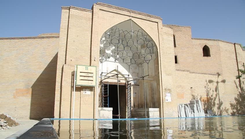 Mosque in Esfahan, Iran - HD stock video clip