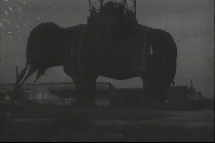 1910s - Atlantic City, New Jersey in 1918. | Shutterstock HD Video #4078327