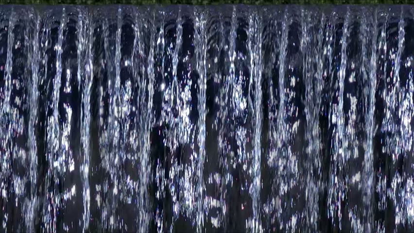 Waterfalls 240fps LM01 Slow Motion x16 - HD stock footage clip
