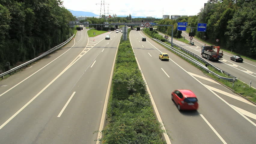 Highway In Warsaw City, Poland Stock Footage Video 2568260 ...