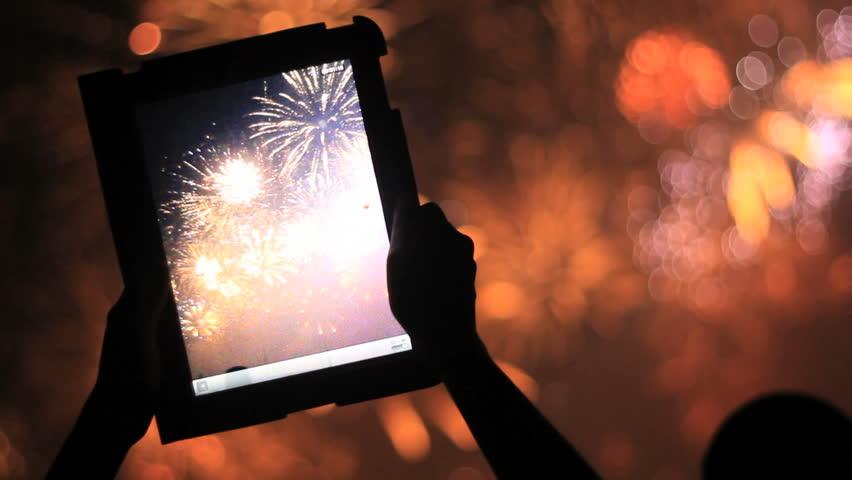Firework, public, smartphones & tablets.