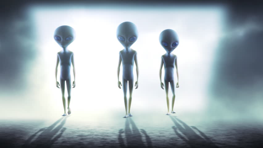 Aliens | Shutterstock HD Video #4177777