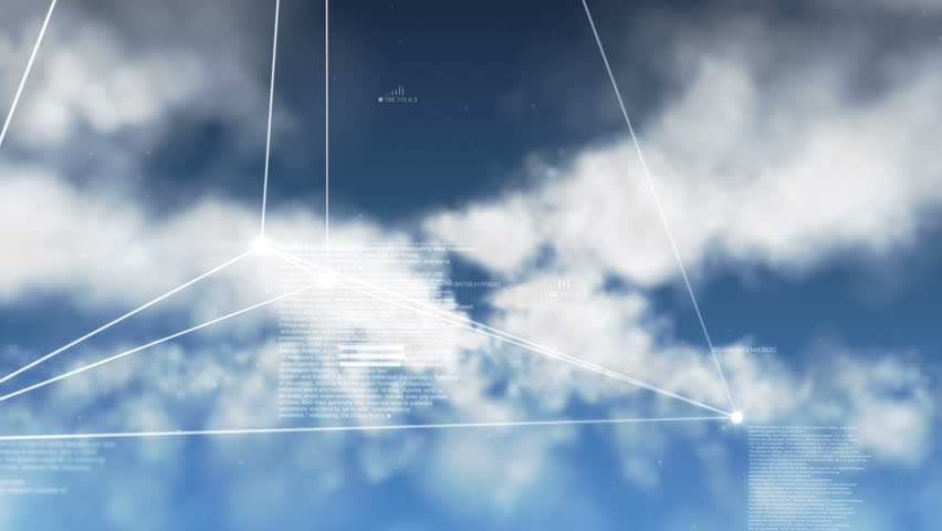 Cloud Computing (Loopable) | Shutterstock HD Video #4178416