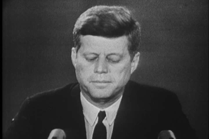 1960s - A narrator discusses the recent history of communism in Cuba with a focus on the Cuban missile crisis