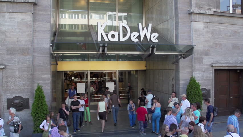 berlin germany july 17 entrance to kadewe shopping mall in berlin on july 17 2013 stock. Black Bedroom Furniture Sets. Home Design Ideas