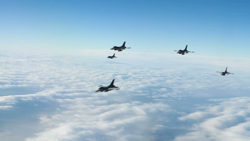 F-16 Squadron.  F-16 Fighting Falcon is a U.S. single-engine multirole fighter aircraft .