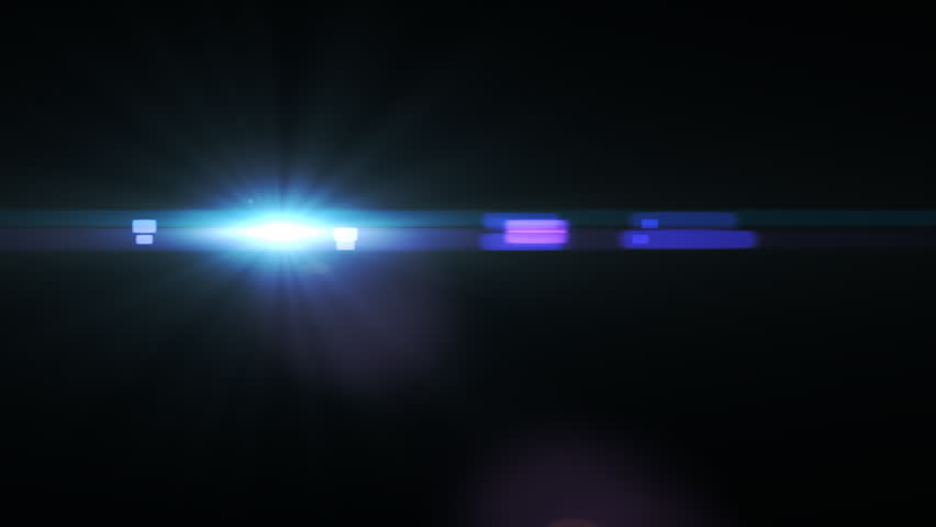 Lens Flare Shine Effect Stock Footage Video Shutterstock