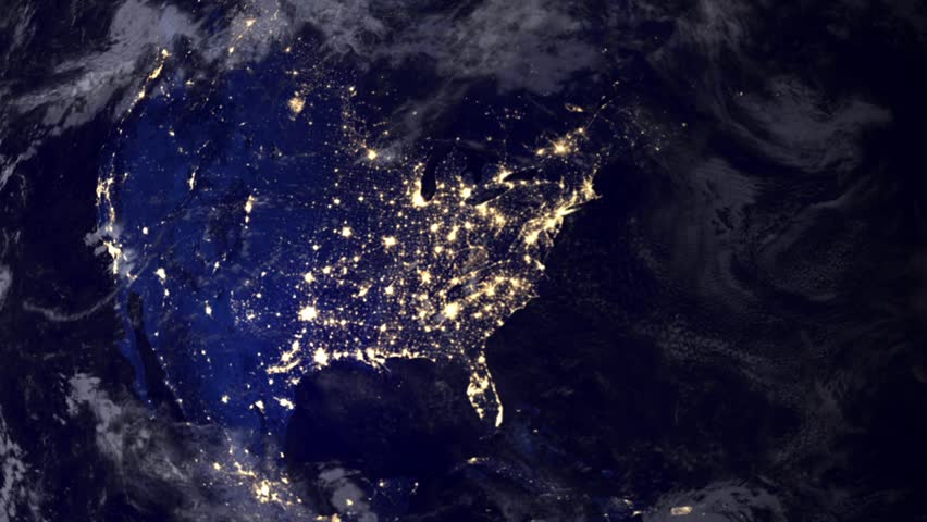 north america from space hd - photo #9