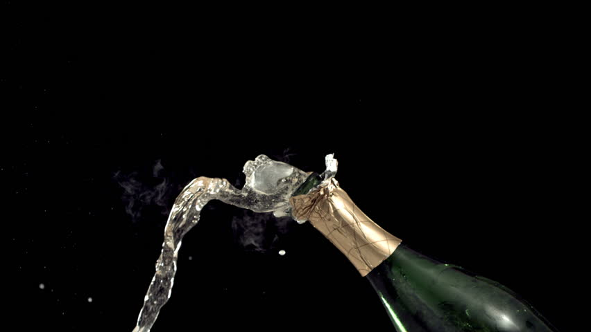 New Year's Champagne, Slow Motion