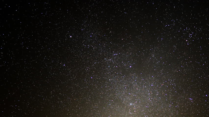 Astrophotography Time Lapse -Night to Day in Desert- Zoom Out