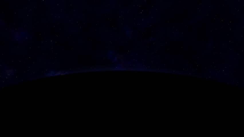 "Sunrise. ""Earth_SunR"" - HD stock video clip"