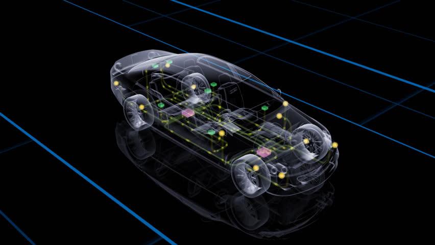"Car Electronics. ""Car-Den_Acl"" Stock Footage Video 483052"