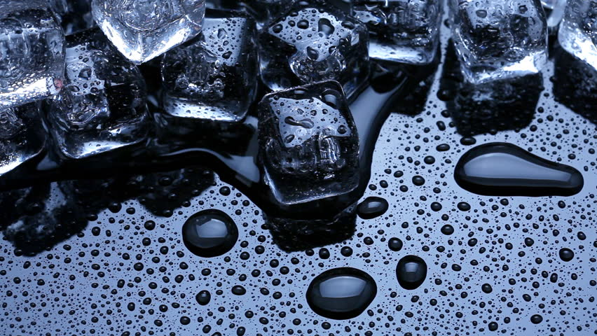 Ice Cubes Melting Stock Footage Video 9091496 - Shutterstock