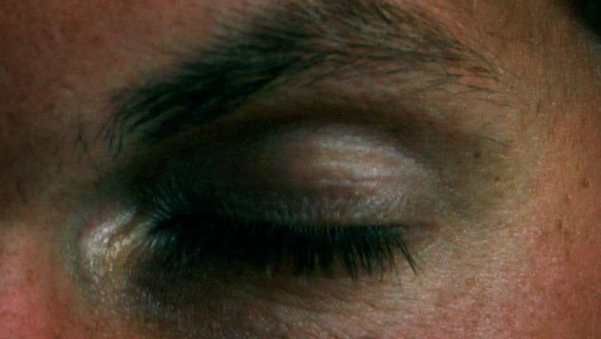 Stop Sign in Eye