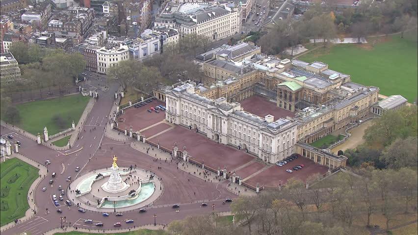 Buckingham Palace London Footage Stock Clips Videos