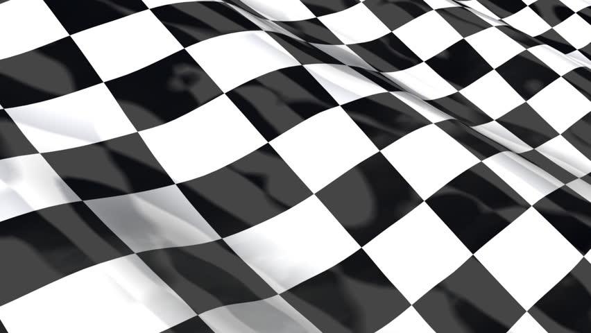 checkered racing flag seamless looping hdtv stock