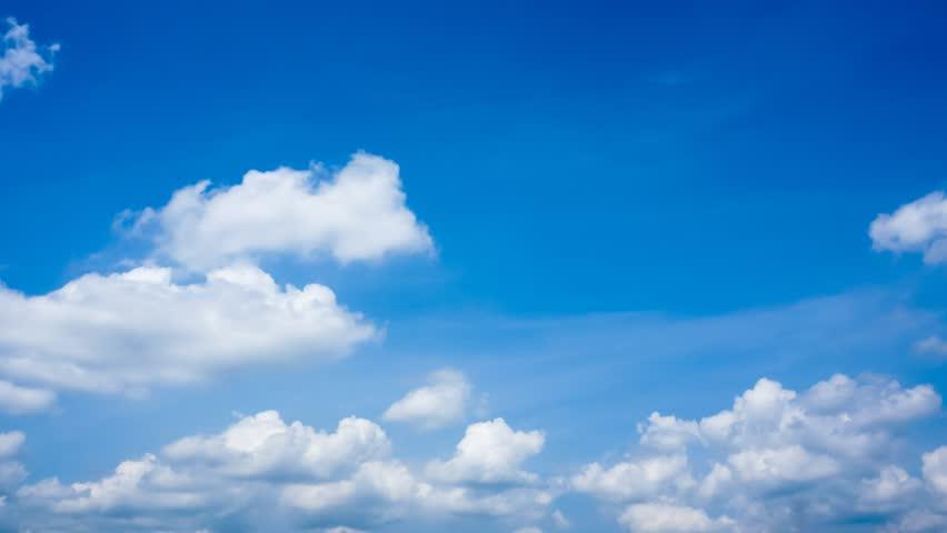 4K. Timelapse rolling clouds - ULTRA HD, 4096x2304.