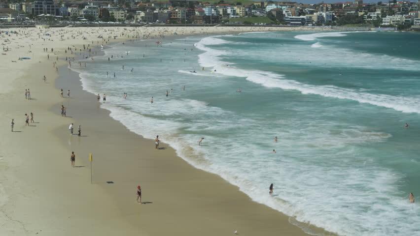 Ocean Waves at Bondi Beach